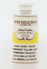 France Charbonnel, Etching Ink, Permanent Yellow Lake, Series 4, 60ml, Tube