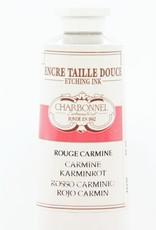 France Charbonnel, Etching Ink, Carmine Red, Series 5, 60ml, Tube