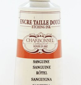 France Charbonnel, Etching Ink, Sanguine, Series 2, 60ml, Tube