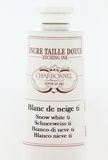 France Charbonnel, Etching Ink, Snow White T1, Series 2, 60ml, Tube