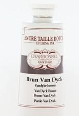 France Charbonnel, Etching Ink, Van Dyck Brown, Series 3, 60ml, Tube