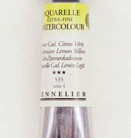 France Sennelier, Aquarelle Watercolor Paint, Cadmium Lemon Yellow, 535,10ml Tube, Series 4