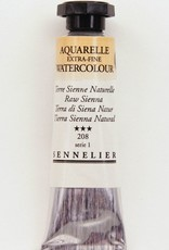 France Sennelier, Aquarelle Watercolor Paint, Raw Sienna, 208,10ml Tube, Series 1
