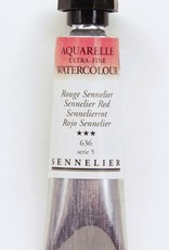 France Sennelier, Aquarelle Watercolor Paint, Sennelier Red, 636,10ml Tube, Series 5