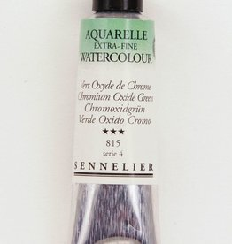 France Sennelier, Aquarelle Watercolor Paint, Chromium Oxide Green, 815,10ml Tube, Series 3