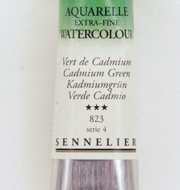 France Sennelier, Aquarelle Watercolor Paint, Cadmium Green, 823,10ml Tube, Series 4