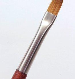 France Raphael, Mini Precision Flat, Size 2, Watercolor Brush
