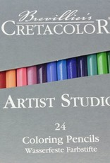 Cretacolor, Artist Studio Color Pencils, 24 Pencil Set