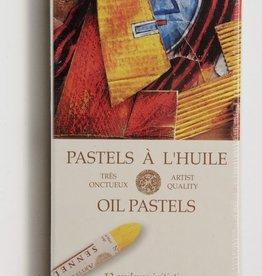 France Sennelier, Introductory Oil Pastel Cardboard Set of 12