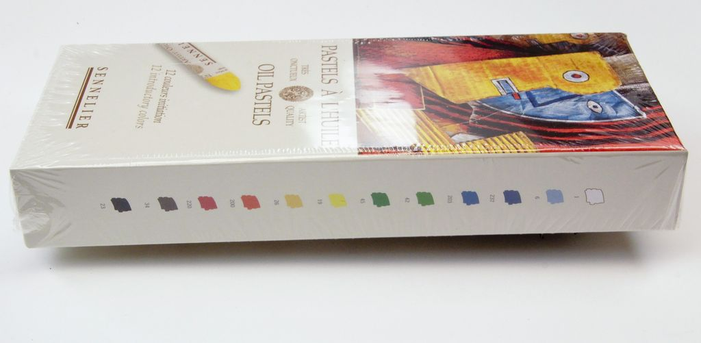 France Sennelier, Introductory Oil Pastel Cardboard Set of 12