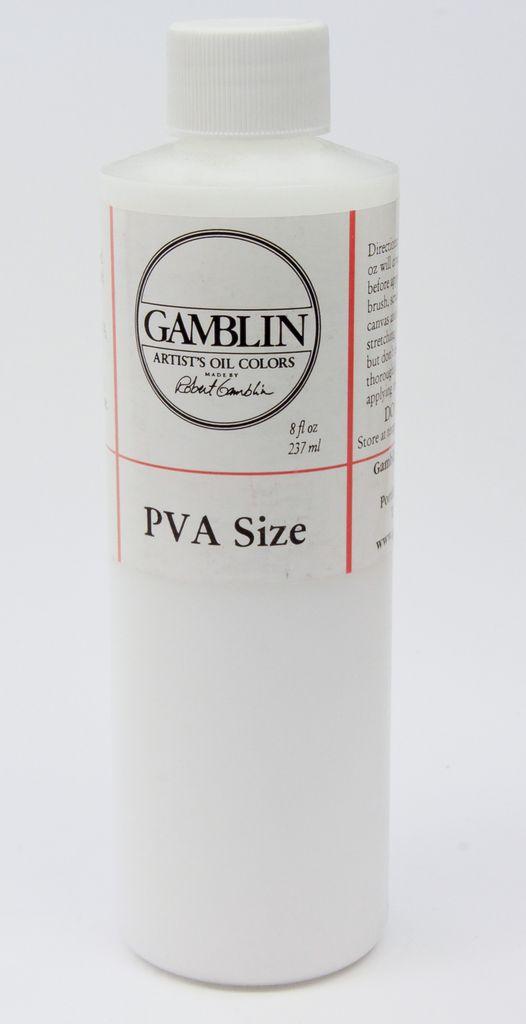 Domestic Gamblin, PVA Size, 8 FL OZ