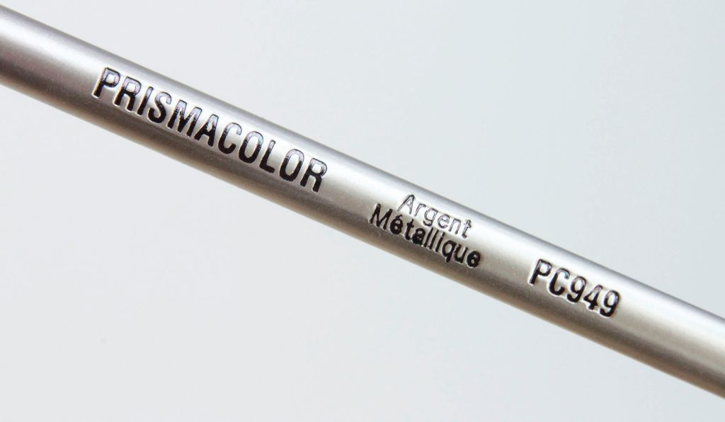 Prisma Color Pencil, 949: Metallic Silver