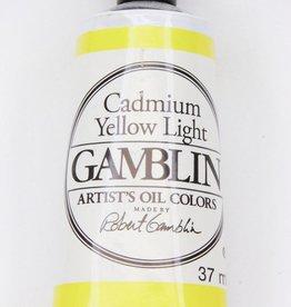 Domestic Gamblin Oil Paint, Cadmium Yellow Light, Series 4, Tube 37ml<br /> List Price: 24.95