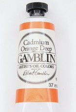 Domestic Gamblin Oil Paint, Cadmium Orange Deep, Series 4, Tube 37ml<br /> List Price: 24.95