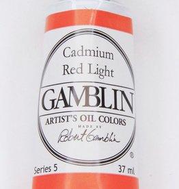 Domestic Gamblin Oil Paint, Cadmium Red Light, Series 5, Tube 37ml<br /> List Price: 29.95