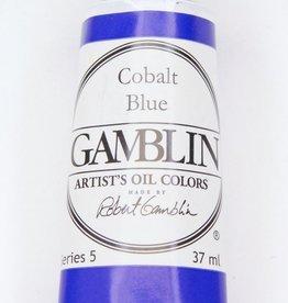 Domestic Gamblin Oil Paint, Cobalt Blue, Series 5, Tube 37ml<br /> List Price: 29.95
