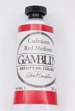 Domestic Gamblin Oil Paint, Cadmium Red Medium, Series 4, Tube 37ml<br /> List Price: 24.95