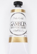 Domestic Gamblin Oil Paint, Pale Gold, Series 4, Tube 37ml<br /> List Price: 24.95