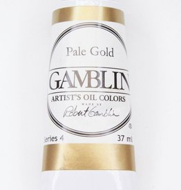 Domestic Gamblin Oil Paint, Pale Gold, Series 4, Tube 37ml<br /> List Price: 24.95
