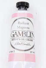 Domestic Gamblin Oil Paint, Radiant Magenta, Series 2, Tube 37ml<br /> List Price: 12.95