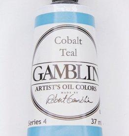 Domestic Gamblin Oil Paint, Cobalt Teal, Series 4, Tube 37ml<br /> List Price: 24.95
