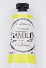Domestic Gamblin Oil Paint, Cadmium Lemon, Series 4, Tube 37ml<br /> List Price: 24.95
