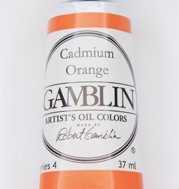 Domestic Gamblin Oil Paint, Cadmium Orange, Series 4, Tube 37ml<br /> List Price: 24.95