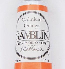 Domestic Gamblin Oil Paint, Cadmium Orange, Series 4, Tube 37ml<br /> List Price: 24.95
