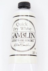 Domestic Gamblin Oil Paint, Quick Dry White, Series 1, Tube 37ml