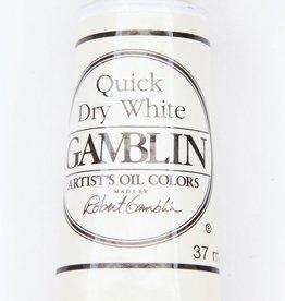 Domestic Gamblin Oil Paint, Quick Dry White, Series 1, Tube 37ml