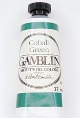 Domestic Gamblin Oil Paint, Cobalt Green, Series 4, Tube 37ml<br /> List Price: 24.95