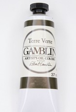 Domestic Gamblin Oil Paint, Terre Verte, Series 2, Tube 37ml<br /> List Price: 12.95