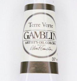 Domestic Gamblin Oil Paint, Terre Verte, Series 2, Tube 37ml<br /> List Price: 12.95