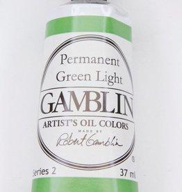 Domestic Gamblin Oil Paint, Permanent Green Light, Series 2, Tube 37ml<br /> List Price: 12.95