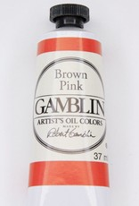Domestic Gamblin Oil Paint, Brown Pink, Series 2, Tube 37ml<br /> List Price: 12.95