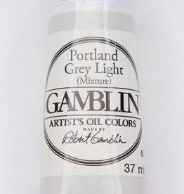 Domestic Gamblin Oil Paint, Portland Grey Light, Series 2, Tube 37ml<br /> List Price: 12.95