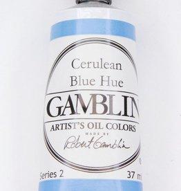 Domestic Gamblin Oil Paint, Cerulean Blue Hue, Series 2, Tube 37ml<br /> List Price: 12.95