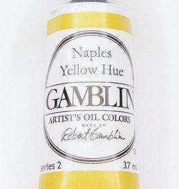 Domestic Gamblin Oil Paint, Naples Yellow Hue, Series 2, Tube 37ml<br /> List Price: 12.95