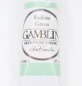 Domestic Gamblin Oil Paint, Radiant Green, Series 2, Tube 37ml<br /> List Price: 12.95