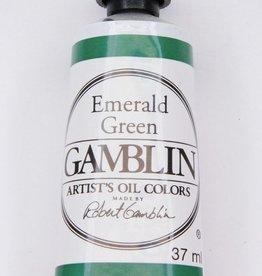 Domestic Gamblin Oil Paint, Emerald Green, Series 2, Tube 37ml<br /> List Price: 12.95