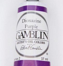 Domestic Gamblin Oil Paint, Dioxazine Purple, Series 2, Tube 37ml<br /> List Price: 12.95