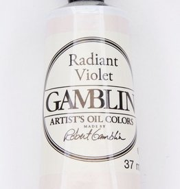 Domestic Gamblin Oil Paint, Radiant Violet, Series 2, Tube 37ml<br /> List Price: 12.95