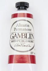 Domestic Gamblin Oil Paint, Alizarin Permanent, Series 3, Tube 37ml<br /> List Price: 17.95