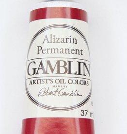 Domestic Gamblin Oil Paint, Alizarin Permanent, Series 3, Tube 37ml<br /> List Price: 17.95