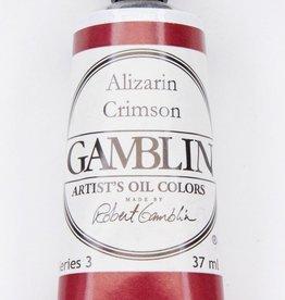 Domestic Gamblin Oil Paint, Alizarin Crimson, Series 3, Tube 37ml<br /> List Price: 17.95