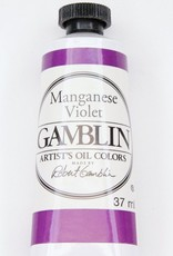 Domestic Gamblin Oil Paint, Maganese Violet, Series 3, Tube 37ml<br /> List Price: 17.95