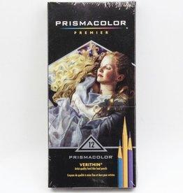 Prisma Color Pencils, Verithin Set of 12