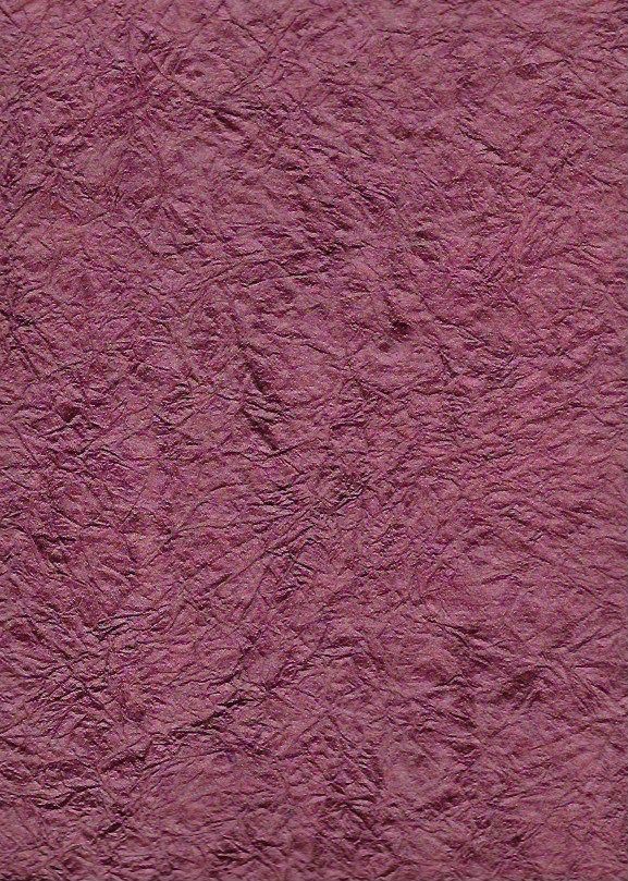 "India Hindumomi Crinkle Metallic Wine, 22"" x 30""  200 gsm Limited Quantities"