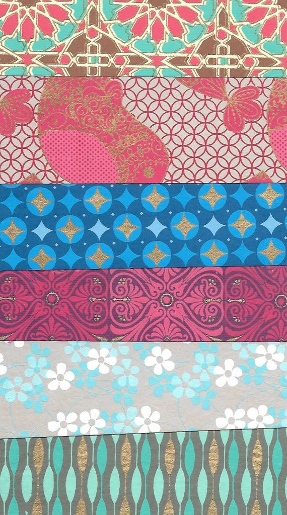 "India Indian Decorative Paper Pack, 8.5"" x 11"" 20 Sheets, Each sheet is a different and unique Indian Design Paper (paper will vary per pack)"