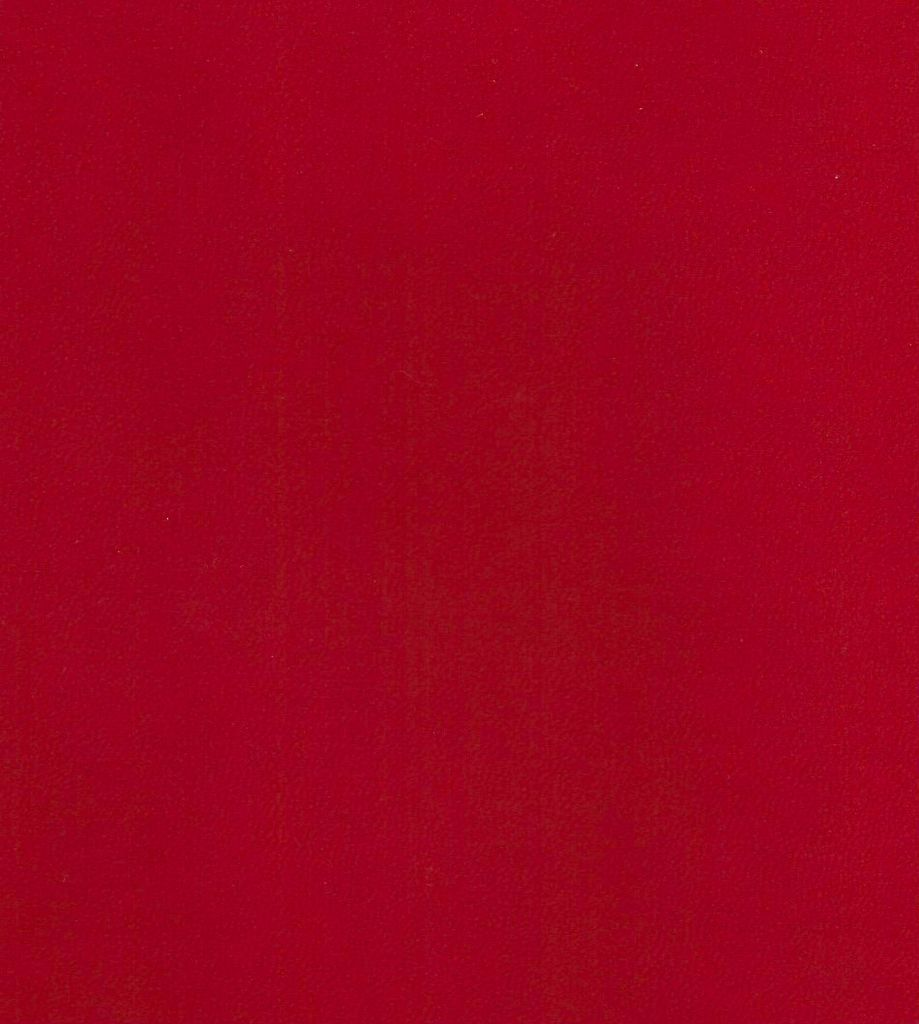 """Domestic Book Cover, Red Faux Leather,18"""" x 19"""", 1 Sheet, Book Cloth"""